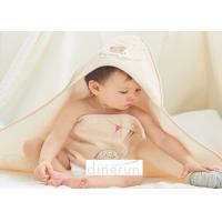 Cheap High Absorbency Organic Cotton Hooded Baby Towel Adorable Easy Wash wholesale