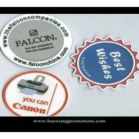 Cheap OEM advertising logo print paper absorbent cup coaster for promotional gift wholesale