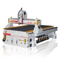 Quality Type 3 Software Plaque Engraving Machine , Cnc Router Wood Cutting Machines Welded Structure for sale