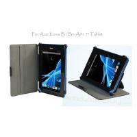Cheap 7 Inch Black Multi-Angle Acer Tablet Leather Case With Hand Strap Stand Cover wholesale