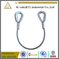 Cheap 1 Tonne Wire Rope Sling ( Large Thimble Eyes ) wholesale