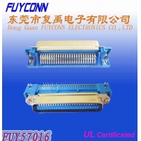 Cheap Male 14 24 36 50 Pin DDK Centronic Right Angle PCB Connector Certified UL wholesale
