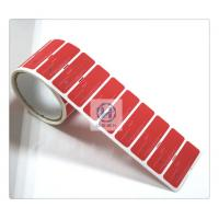 Customized Sharp Magnetic Security Labels Free Sample 66mm * 22mm