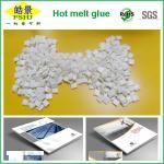 Milk White Bookbinding Hot Melt Glue Granule For Notebook / Printing industry