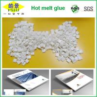Quality Milk White Bookbinding Hot Melt Glue Granule For Notebook / Printing industry for sale