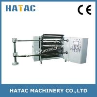 China CNC Plastic Film Roll Cutting Machine,High Precision Aluminum Foil Roll Material Slitting on sale