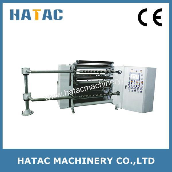 Quality High Precision Cellophane Paper Converting Machine,CAD Film Slitter Rewinder,PET Film Slitting Rewinding Machine for sale