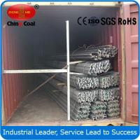 Cheap Steel rail factory! 15kg/m light steel rail wholesale