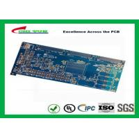 Cheap Blue 20 Layer Quick Turn PCB Prototypes 3.5MM Immersion Gold 0.25mm Hole wholesale
