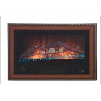 Cheap Luxury Black Indoor Home Decorators Electric Fireplace With Steel Body wholesale