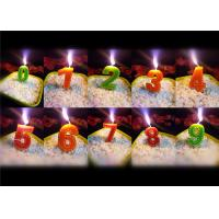 Cheap Beauty Stitches Printed Numerical Birthday Candles White Short Line Border Wax wholesale