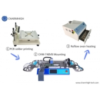 Buy cheap Small Surface Mount Solder Paste Silk Print , CHMT48VB Chip Mounter , PCB from wholesalers