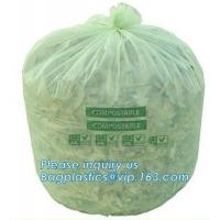 Buy cheap Kitchen Trash Collection Biodegradable Food Waste Bags / Compostable Garbage Bag from wholesalers
