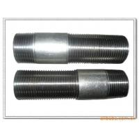 Cheap 1/2-4 Galvanized long screw thread steel pipe nipples wholesale