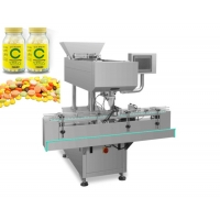 Buy cheap 60 Bottles Speed Automatic Vitamin Candy Counting And Bottle Filling Machine PLC from wholesalers