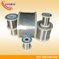 Nicr80 / 20 Nichrome Wire Magnetic Alloy For Resistance Wire