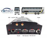 Cheap 8 channel car security dvr recorder Built-In 3G / 4G / WIFI / G-Sensor DVR System for Bus wholesale