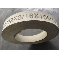 Cheap High Hardness Molded Brake Lining Roll , Synthetic Rubber Windlass Brake Lining wholesale