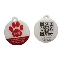Cheap Eco Friendly NFC RFID Epoxy Tag With QR Code Printing Customized Size wholesale