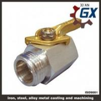 Cheap Cast NPT Full Port Private Label on Handle Ppr Ball Valve With Brass Ball wholesale
