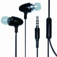 Cheap Wired earphones for iPhone, iPod, colorful, with mini microphone wholesale