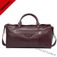 Cheap Luxury Oil Vintage Womens Leather Travel Bag With Adjustable Shoulder Strap wholesale