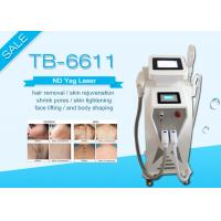 Buy cheap Crystal Sapphire E-light IPL RF / IPL Hair Removal Nd Yag Laser Tattoo Removal from wholesalers