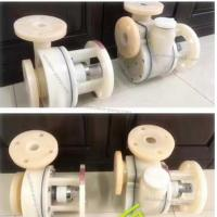 Cheap GBF Vertical fluorine plastic lined centrifugal pump corrosion resistant pump wholesale