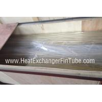 Cheap Plain / Beveled / Treaded End Copper Nickel Tubes , smls CuNi 90/10 Pipe wholesale