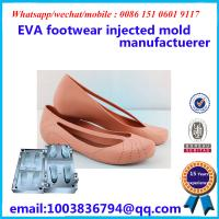 China Commercial Slipper Mold Fashionable Design Footwear Injected Mold on sale