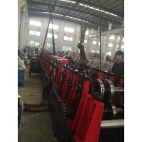 Cheap 3MM Q195-235 C Purlin Roll Forming Machine With 18 Forming Roller Steel Construction Area wholesale