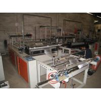 China PE PP Carry Bag On Roll Making Machine , Plastic bag sealing machine on sale