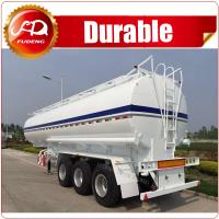 Cheap Best Quality 3 axles 45000L Oil Fuel Tank trailer with 3~6 compartments wholesale