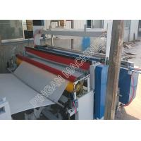 Buy cheap Semi automatic tissue paper rolls rewinding machine efficient with embassing from wholesalers