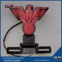 Buy cheap flying eagle red cover movable bracket brake lamp Halley motorcycle modification accessories led eagle eye lamp from wholesalers