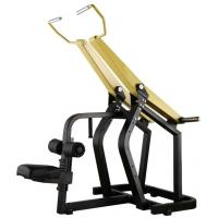 Cheap Professional Yellow Hammer Strength Plate Loaded Gym Equipment / Pull Down Machine 152kg wholesale
