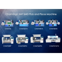 Cheap Charmhigh SMD Pick And Place Machine , SMT Placement Machine 8 Models Prototyping wholesale