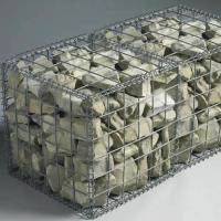 Cheap Foldable Welded Mesh Gabions|Galvanized Wire 2''x2'' for Architectural Uses wholesale
