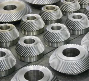 Cheap Soft Spiral Bevel Gear, ASTM 4140, 1045, 4130 wholesale