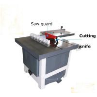 Cheap MJ243C silent vertical sliding circular saw for wood with rail guide wholesale