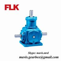 Cheap Spiral Cast iron Solid Bevel Gear Reducer / bevel gearbox 1450rpm wholesale
