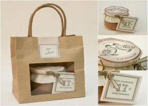 Cheap Gift paper bag with window - fashion & beautiful wholesale