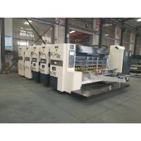 Buy cheap High Speed Corrugated Cardboard Production Line Printing Slotting And Die Cutter from wholesalers
