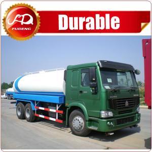 Cheap 2016 hot sale high quality 19000L 6x4 STR 5000 gallon water tank truck wholesale