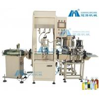China Full Automatic Filling And Capping Machine Production Line Large Capacity on sale