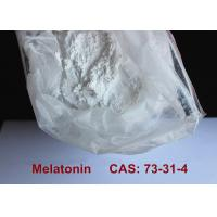 Cheap Safest Pharmaceutical Raw Materials Melatonin Powder Improving Sleep / Preventing Aging wholesale