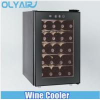 Cheap 50L Dual Zone wine cooler with 2 thermoelectric cooling system wholesale