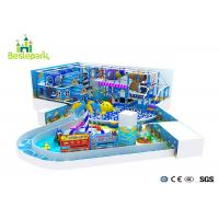Buy cheap Kids Climbing Indoor Play Gym Wooden Soft Material Security Eco - Friendly from wholesalers