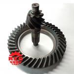 Cheap ISUZU NKR 6HH1 Rear Axle Transmission Gleason Spiral Bevel Gear Pinion And Crown Wheel wholesale