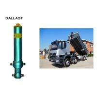 Cheap Piston Rod Single Acting Dump Truck Hydraulic Cylinder Steel Material Customized wholesale